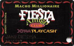 Fiesta Casino Las Vegas, NV - Slot Card Copyright 2004 - Casino Cards