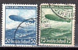 Deutsches Reich 1936 Mi. 606-607 Gestempelt (pü2911) - Alemania