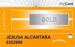 Station Casinos Las Vegas, NV - Slot Card Copyright 2008 - Gold My Card / 8 Casinos Indented - Casinokarten