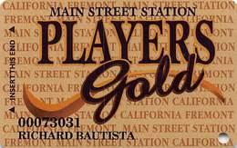 Main Street Station Casino - Las Vegas NV - 7th Issue Slot Card (see Description For Details) - Casinokarten