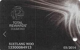 Harrah's Casino Multi-Property - TR Diamond Slot Card @2013 / No Mfg# - Casinokarten