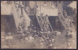 Bath, Sent From Opatija To Vukovar, 1905 - Croacia