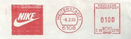 EMA METER STAMP FREISTEMPEL NIKE SPORT - Stamps