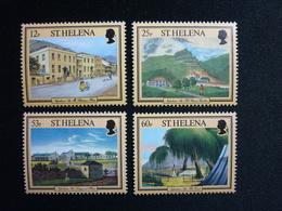 Saint Helena, 1996 Napoleonic Sites Scott #682-685 MNH Cv. 8,70$ - Isola Di Sant'Elena