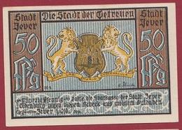 Allemagne 1 Notgeld 50 Pfenning  Stadt Jever (RARE) Dans L 'état Lot N °4471 - Collections