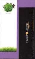 Marque-page °° Librairie Gibert Joseph Toulouse - Jardinage - Salade - 5x15 - Marcapáginas