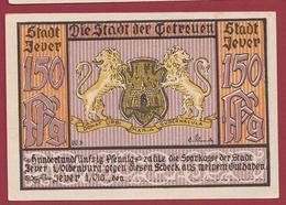 Allemagne 1 Notgeld 1,50 Mark  Stadt Jever (RARE) Dans L 'état Lot N °4473 - Collections