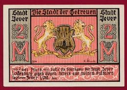 Allemagne 1 Notgeld 2 Mark  Stadt Jever (RARE) Dans L 'état Lot N °4474 - Collections
