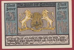 Allemagne 1 Notgeld 3 Mark  Stadt Jever (RARE) Dans L 'état Lot N °4475 - Collections