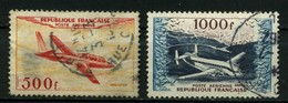 FRANCE   Poste Aérienne      N° Y&T  PA32 Et PA33  (o) - Airmail