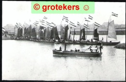 STAVOREN Oud, Vlootschouw Echte Foto 1980 - Stavoren