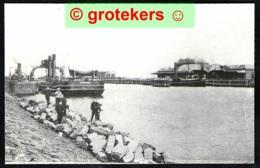 STAVOREN Oud, Spoorhaven Echte Foto 1980 - Stavoren