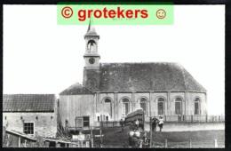 STAVOREN Oud, Hervormde Kerk Echte Foto 1980 - Stavoren