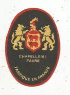 Autocollant , Chapellerie FABRE - Stickers