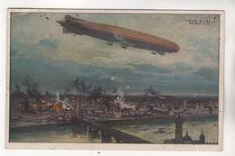 +3002, Zeppelin über Warschau - Guerra 1914-18