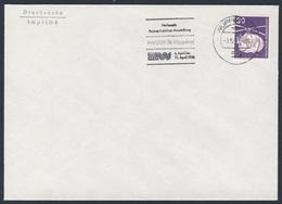 Deutschland Germany 1976 Brief Cover - NAPOSTA '76 - Nat. Postwertzeichen-Ausstellung, Wuppertal / Stamp Exhibition - Treinen