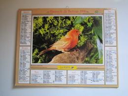 1996 ALMANACH DU FACTEUR Calendrier Des Postes HAUTE-MARNE 52 - Calendriers
