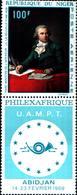 6534B)  REPUBLICA DEL NIGER-1969 -PHILEXAFRIQUE-ABIDJAN -MNH** - Niger (1960-...)