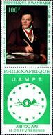 6535B)  REPUBLICA RWANDAISE-1969 -PHILEXAFRIQUE-ABIDJAN -MNH** - 1962-69: Nuovi