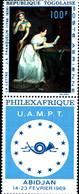 6538B)  REPUBLICA DEL TOGO-1969 -PHILEXAFRIQUE-ABIDJAN -MNH** - Togo (1960-...)