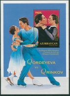 Aserbaidschan 1998 Olympiade Nagano: Eiskunstlauf Block 34 Postfrisch (C30241) - Aserbaidschan