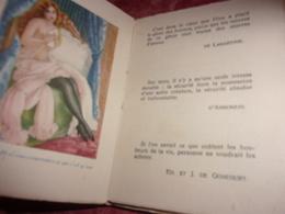 CURIOSA  LES CARESSES ET LE CHARME EDIT NILSSON - Livres, BD, Revues