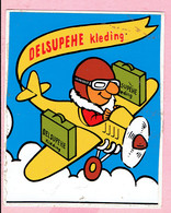 Sticker - DELSUPEHE Kleding - Vliegtuig - Autocollants