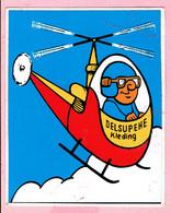 Sticker - DELSUPEHE Kleding - Helikopter - Autocollants