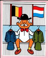 Sticker - DELSUPEHE Kleding - België - Nederland - Autocollants