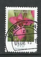 Duitsland, Mi 3471 Jaar 2019, Bloemen, Hogere Moeilijke Waarde,   Prachtig Gestempeld - [7] République Fédérale