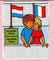 Sticker - DELSUPEHE Kleding - Frankrijk - Nederland - Autocollants