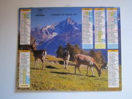 1991 ALMANACH DU FACTEUR Calendrier Des Postes HAUTE-MARNE 52 - Calendriers