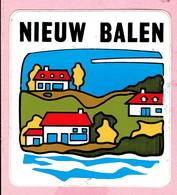 Sticker - Nieuw Balen - Autocollants