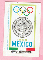 Sticker - MEXICO 1968 - Kraft - Franco Suisse - Autocollants