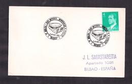 España - 1984 - FDC - Cachets Spéciaux - 1er Sac - Salon International Des Minéraux Et Des Fossiles - Bilbao - Minerals