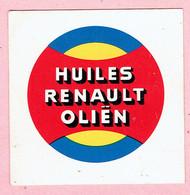 Sticker - HUILES RENAULT OLIËN - Autocollants