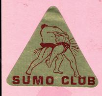 Sticker - SUMO CLUB - COX International Antwerp - Autocollants