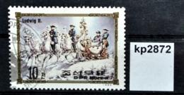 Kp2872 Europäische Herrscher, Ruler, König Ludwig II. V Bayern, Schlitten, KP 84 - Korea (Nord-)