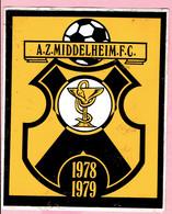 Sticker - A.Z. MIDDELHEIM. F.C. - 1978 - 1979 - Autocollants