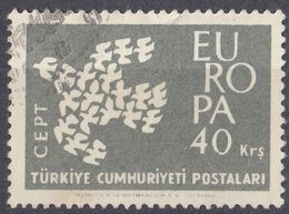 TURCHIA - 1961 - Yvert 1600 Usato. - 1921-... Repubblica