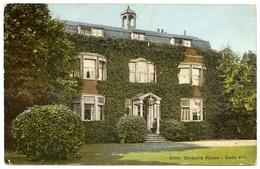 GADS HILL : DICKEN'S HOUSE / ADDRESS - BURTON ON TRENT, SCALPCLIFFE ROAD, STAPENHILL - Rochester