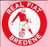 Sticker - REAL FIAT - BREDENE - Autocollants