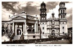 Mexico San Luis Potosi , Kiosko Y Catedral - Mexico