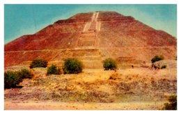 Mexico ,  Acapulco ,San Juan Teotihuacan , La Piramide Del Sol - Mexico