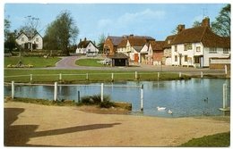 FINCHINGFIELD : THE DUCK POND - England