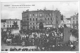 COGNAC CAVALCADE DE LA MI CAREME 1908 LE CHAR DE JEANNE HACHETTE TBE - Cognac