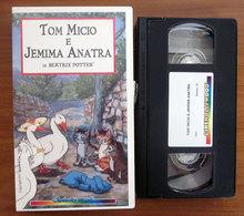 TOM MICIO E JEMIMA ANATRA POTTER CINEHOLLYWOOD VHS - Dibujos Animados