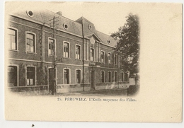 7 - Péruwelz - L' Ecole Moyenne Des Filles - Péruwelz