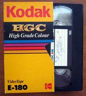 KODAK HGC E-180  VHS USATA - Videocesettes VHS