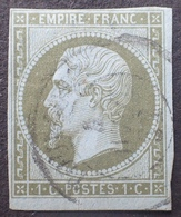 R1568/93 - NAPOLEON III N°11 - CàD De TOULOUSE Du 4 AVRIL 1862 - 1853-1860 Napoléon III